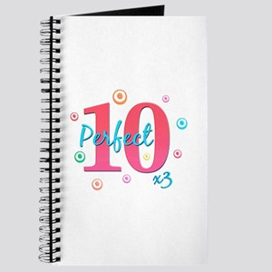 Perfect 10 x3 Journal