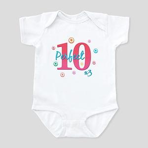 Perfect 10 x3 Infant Bodysuit