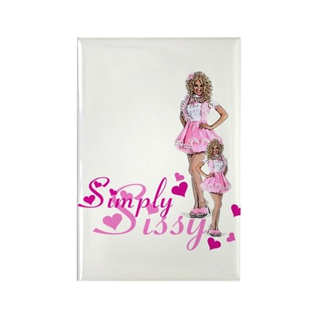 Simply Sissy Rectangle Magnet