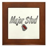 USCG Major Stud ver2 Framed Tile