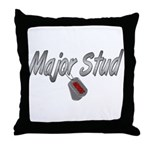 USCG Major Stud ver2  Throw Pillow