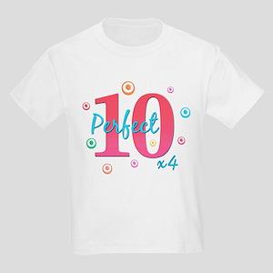 Perfect 10 x4 Kids Light T-Shirt