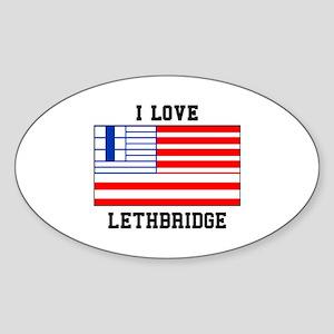 I Love Lethbridge Sticker