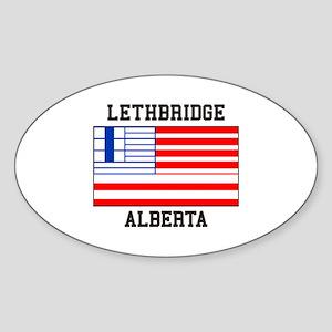 Lethbridge, Alberta Sticker