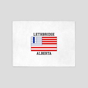 Lethbridge, Alberta 5'x7'Area Rug