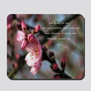Poem from Rumi 2 Mousepad