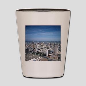 San Antonio Texas Skyline Shot Glass