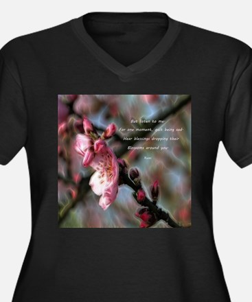 Poem from Rumi 2 Plus Size T-Shirt