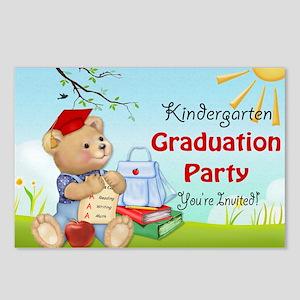 Teddy Bear Kindergarten G Postcards (Package of 8)