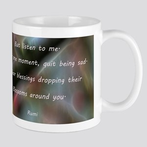 Poem from Rumi 2 Mugs