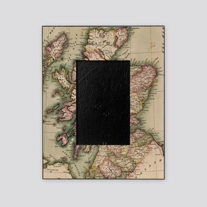 Vintage Map of Scotland (1814) Picture Frame
