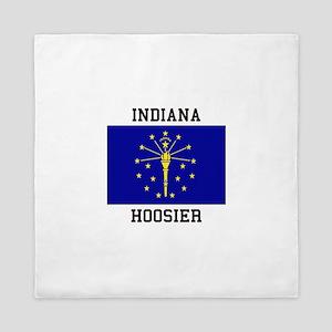 Indiana Hoosier Queen Duvet