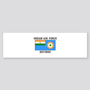 Indian Air Force Retired Bumper Sticker