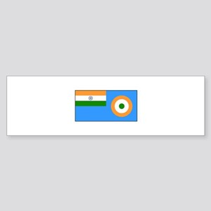 Indian Air Force Flag Bumper Sticker
