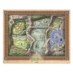 Sorcery! 3: Ishtara Poster Design