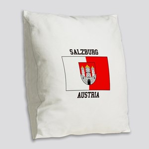 Salzburg, Austria Burlap Throw Pillow
