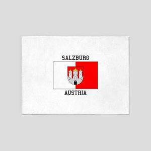 Salzburg, Austria 5'x7'Area Rug