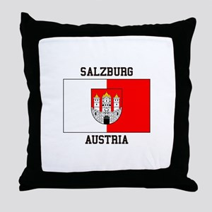Salzburg, Austria Throw Pillow