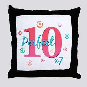 Perfect 10 x7 Throw Pillow