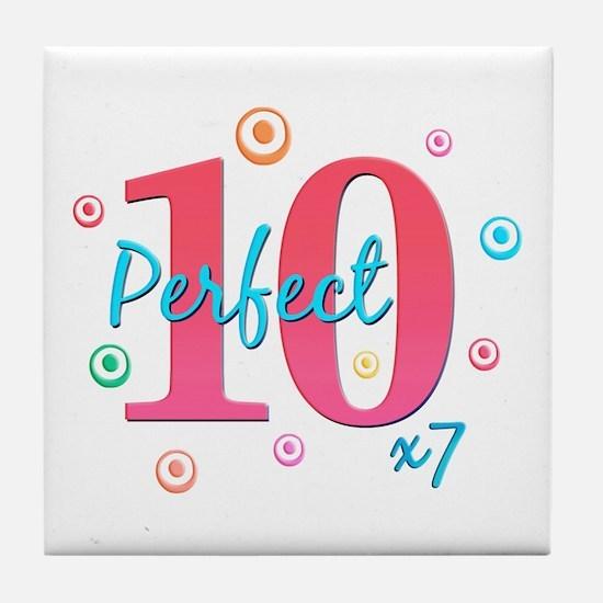 Perfect 10 x7 Tile Coaster