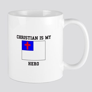 Christian Is My Hero Mugs