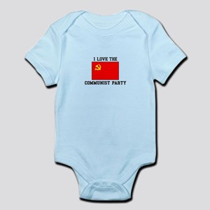 I Love Communist Party Body Suit