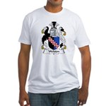 Welston Family Crest  Fitted T-Shirt