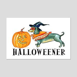 Halloweener Mini Poster Print