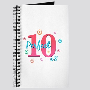 Perfect 10 x8 Journal