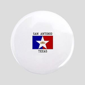 San Antonio Texas Button