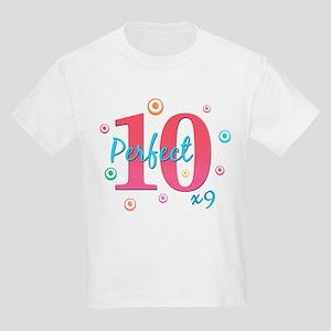 Perfect 10 x9 Kids Light T-Shirt