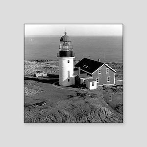 "Seguin Lighthouse  Square Sticker 3"" x 3"""