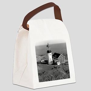 Seguin Lighthouse  Canvas Lunch Bag