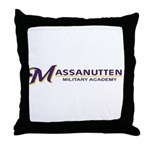 Massanutten Military Academy Logo Throw Pillow