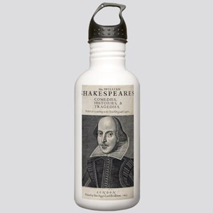 William Shakespeare Po Stainless Water Bottle 1.0L