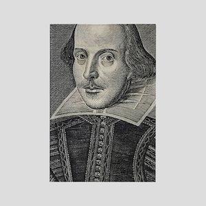 William Shakespeare Portrait Rectangle Magnet