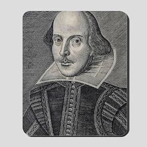 William Shakespeare Portrait Mousepad