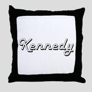 Kennedy surname classic design Throw Pillow