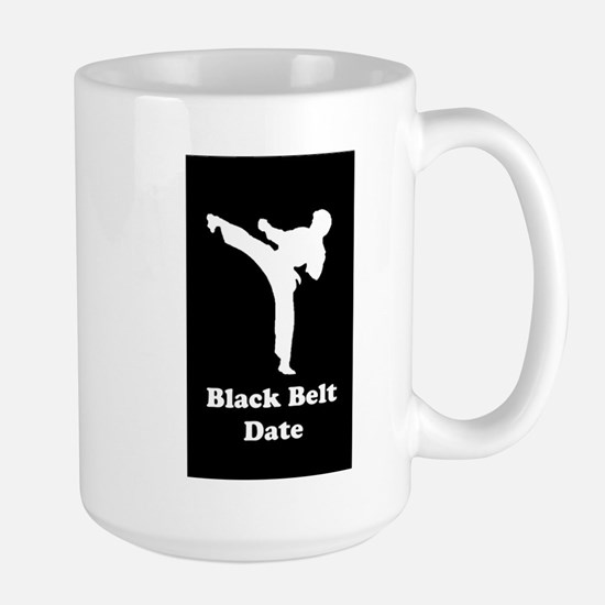 Karate Black Belt Large Mug