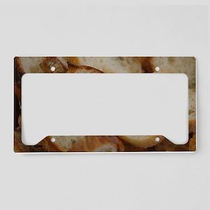Artisan Bread Slices License Plate Holder