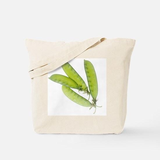 Snow Peas Tote Bag