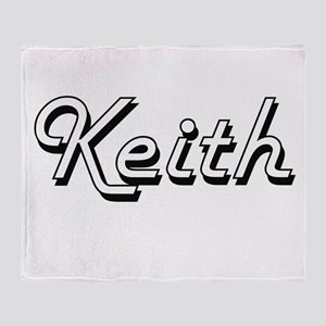 Keith surname classic design Throw Blanket