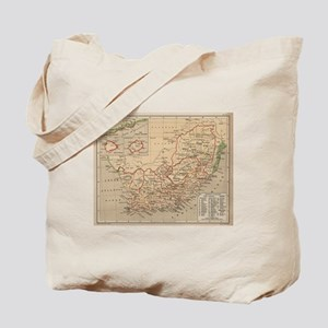 Vintage Map of South Africa (1880) Tote Bag