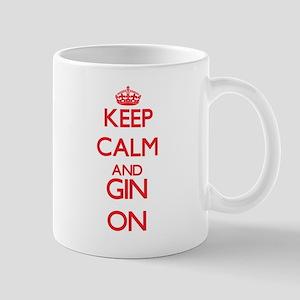 Keep Calm and Gin ON Mugs