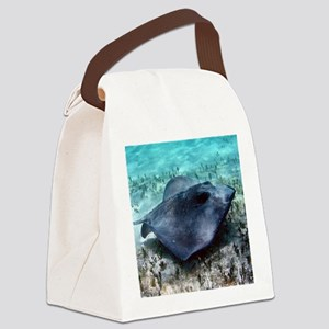 Southern Stingray Canvas Lunch Bag
