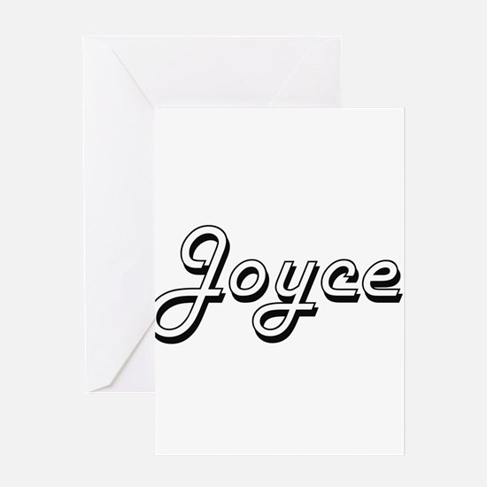 Joyce surname classic design Greeting Cards