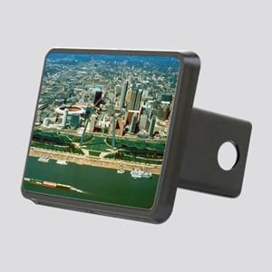 St. Louis Arch and Skyline Rectangular Hitch Cover