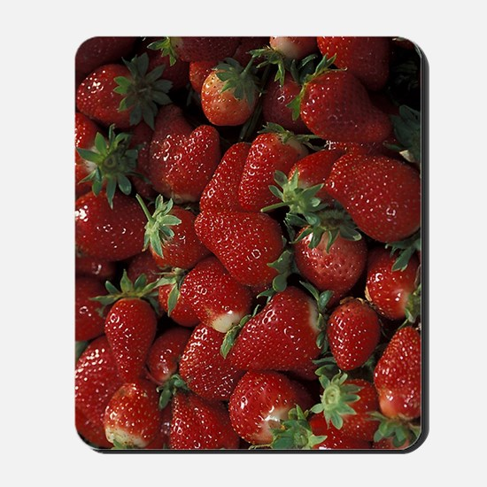 Bushel of Strawberries  Mousepad