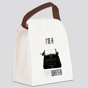 I'm a (Type)Writer Canvas Lunch Bag