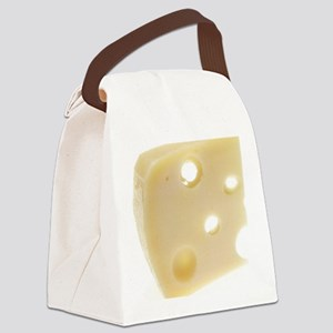Swiss Cheese Canvas Lunch Bag